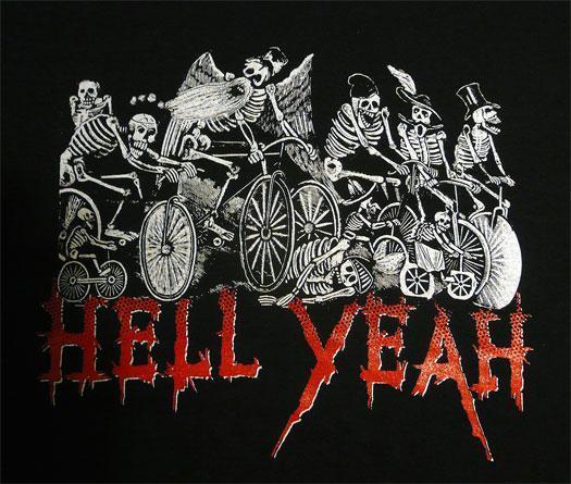 hell yeah skeltons print
