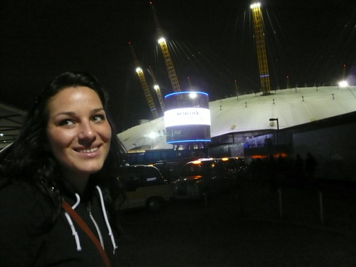 emily at the o2