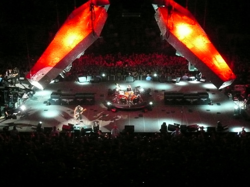 metallica at the o2