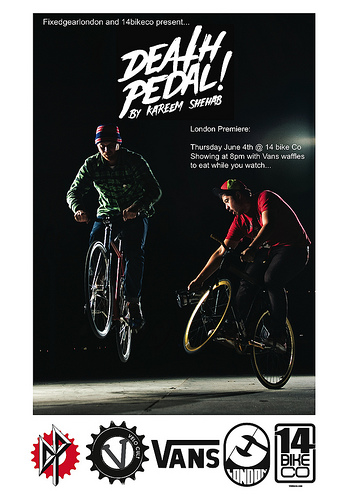 death pedal flyer