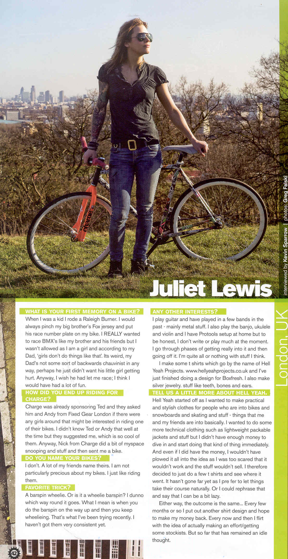 juliet elliott cog magazine