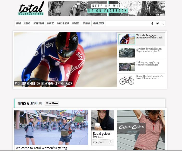 total womens cycling juliet homepage