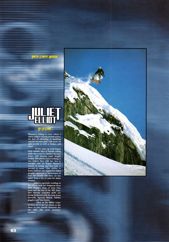 juliet whitelines 1