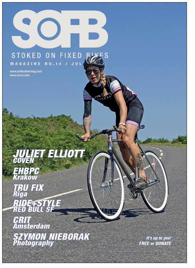 SOFB Issue 14 Cover Juliet Elliott
