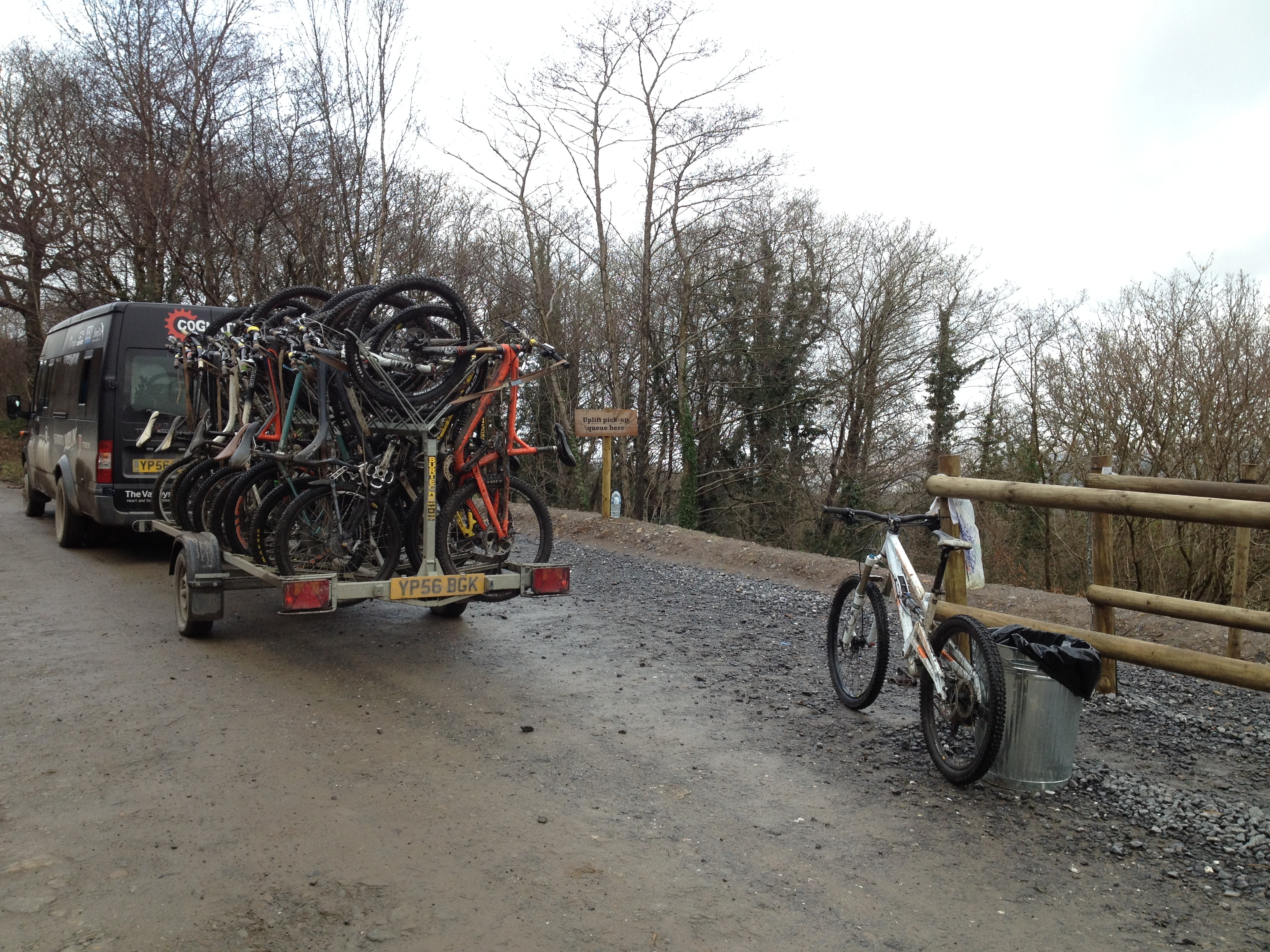Bike Park Wales uplift