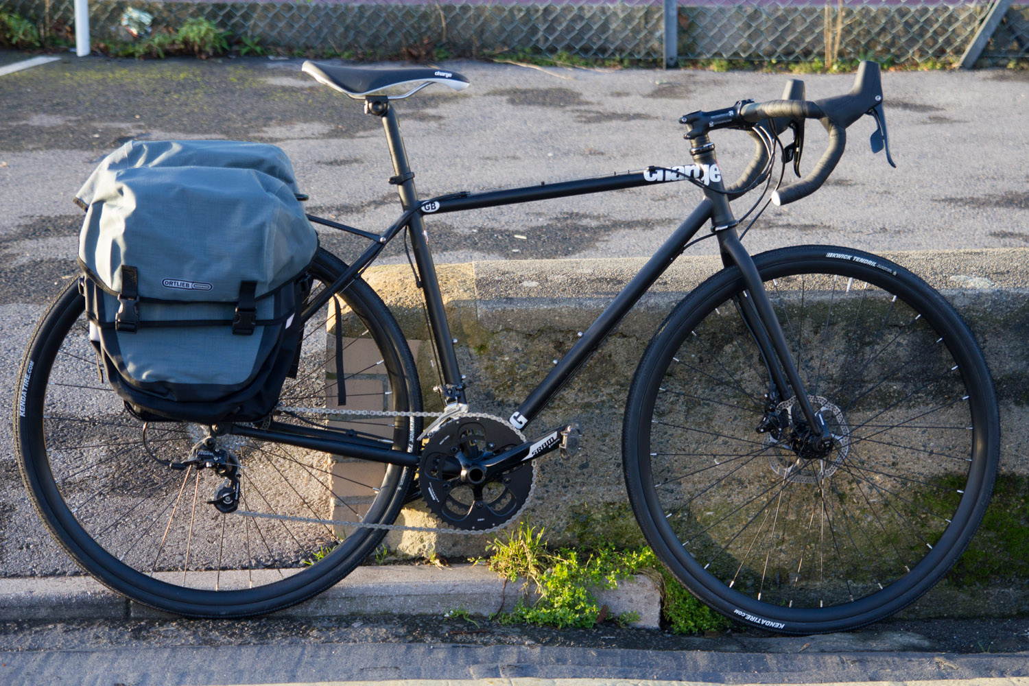 plug 5 with ortlieb bike packer plus panniers and tubus rack