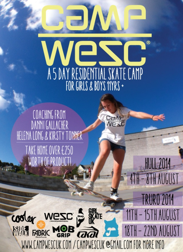 Camp WESC Girls Camp dates